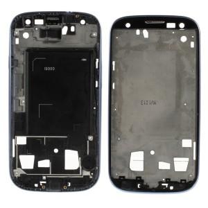 Samsung Galaxy S3 I9300 - Moldura LCD Azul