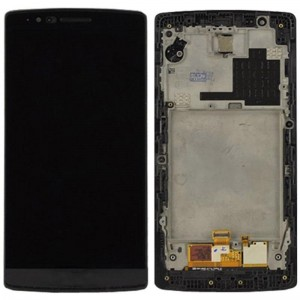 LG G Flex 2 H955 - Full Front LCD Digitizer With Frame Black