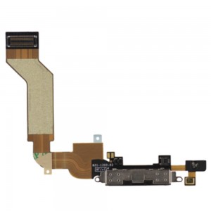 iPhone 4S - Conector de carregamento Flex Black