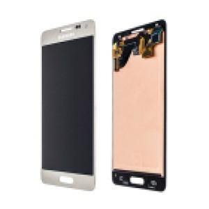 Samsung Galaxy Alpha G850F - Full Front LCD Digitizer Gold