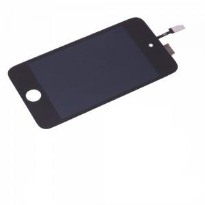 iPod 4th Gen - Full Front LCD Digitizer Black