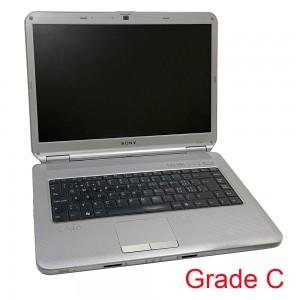 SONY PCG-7141M / 15.4'' / Intel Core2 Duo T5800 2.00GHz / 320GB HDD / 4GB RAM / Windows 10 / Grade C