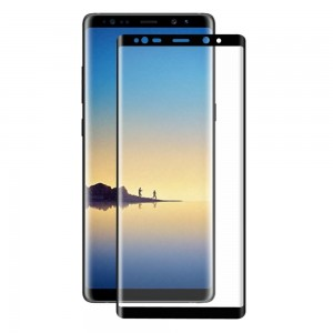 Samsung Galaxy Note 8 N950 - 3D Full Covered Tempered Glass Black