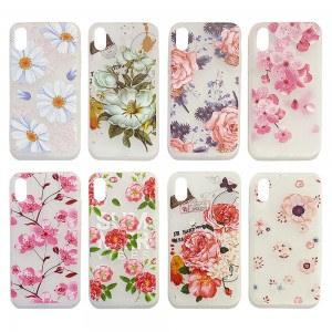 iPhone XS MAX -  3D Flower Case