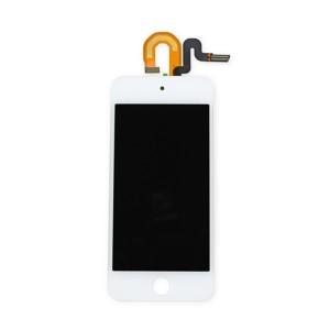 iPod 5th Gen - Full Front LCD Digitizer White
