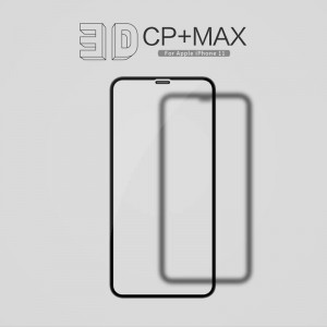 iPhone XR / 11 - NillKin 3D CP+ Max Full Coverage Anti-explosion Tempered Glass Black