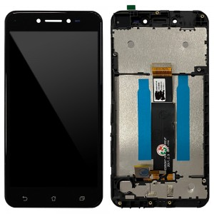 Asus Zenfone Live ZB501KL - Full Front LCD Digitizer with Frame Black