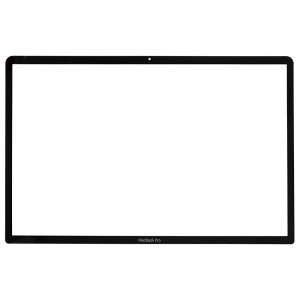 Macbook Pro 17 inch A1297 2009-2011 - Front Glass Black