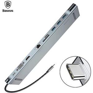 Baseus - Enjoyment Series Type-C Notebook 10 in 1 HUB Adapter