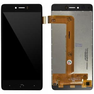BQ Aquaris U Plus - Full Front LCD Digitizer Black