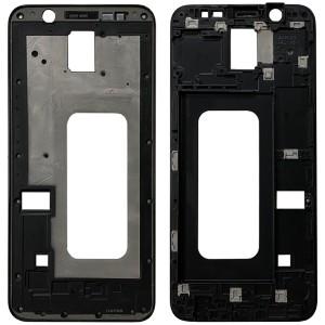 Samsung Galaxy A6+ (2018) A605 - LCD / Front Frame Black