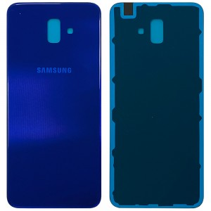 Samsung Galaxy J6+ 2018 J610 - Battery Cover with Adhesive Blue
