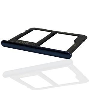 Samsung Galaxy J4+ J415 / J6+ 2018 J610 - Sim2 + Micro SD Carte Tray Holder Black