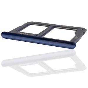 Samsung Galaxy J4+ J415 / J6+ 2018 J610 - Sim2 + Micro SD Carte Tray Holder Gray
