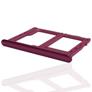 Samsung Galaxy J4+ J415 - Sim2 + Micro SD Carte Tray Holder Pink