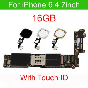 iPhone 6 - 16 GB Motherboard Fully Functional with Touch ID