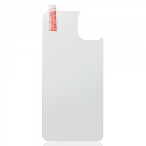 iPhone 11 - 9H Anti-Explosion Back Tempered Glass