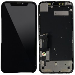 iPhone XR - Full Front LCD Digitizer (Original Remaded) Black