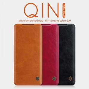Samsung Galaxy S20 G980 - NILLKIN Qin Leather Case