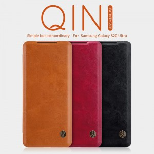Samsung Galaxy S20 Ultra  G988 - NILLKIN Qin Leather Case