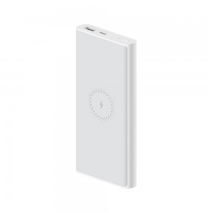 Xiaomi - 18W Fast Charge Power Bank Lite with 10W MAX Wireless Charge 10000mAh White