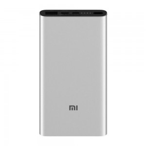 Xiaomi - 18W Fast Charge Power Bank 3nd GEN 10000mAh Silver
