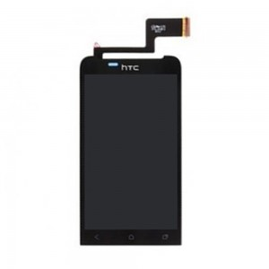 HTC ONE V - Full Front LCD Digitizer Black