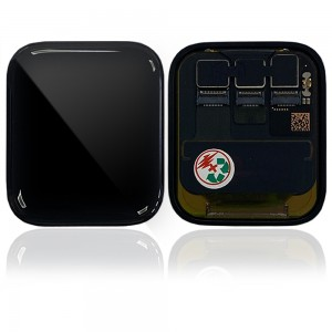 Apple iWatch Series 5 44mm GPS / 4G - Full Front LCD Digitizer Black
