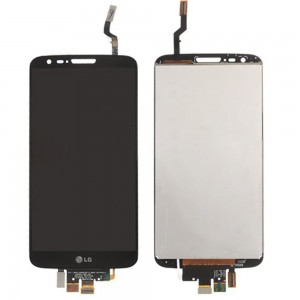 LG Optimus G2 D802 - Full Front LCD Digitizer Black