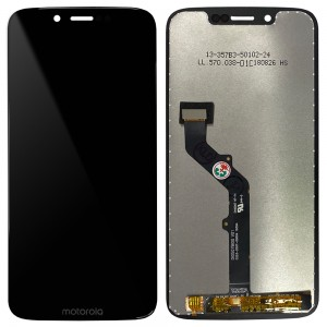 Motorola Moto G7 Play XT1952 - Full Front LCD Digitizer Black