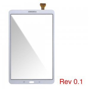 Samsung Galaxy Tab A 2016 T580 T585 - Front Glass Digitizer White rev0.1