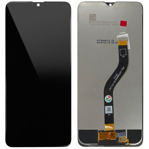 "Samsung Galaxy A20s A207 - Full Front LCD Digitizer Black "" Service Pack """