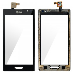 LG Optimus L9 P760 - Vidro Touch Screen Preto