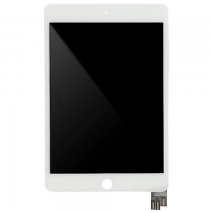 iPad Mini 5 - Full Front LCD Digitizer White