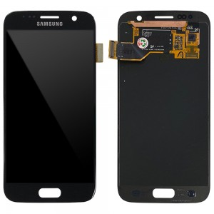 Samsung Galaxy S7 G930F - Full Front LCD Digitizer (Original Remaded) Black