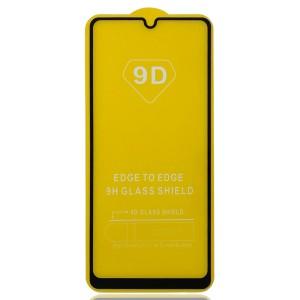 Samsung Galaxy A31 A315 - Full Arc Tempered Glass Black