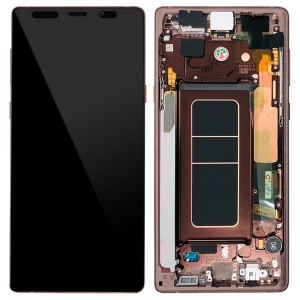 Samsung Galaxy Note 9 N960 - Full Front LCD Digitizer Cooper ( Original Remaded )