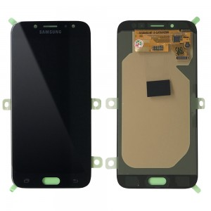 Samsung Galaxy J7 2017 J730 / J7 Pro - Full Front LCD Digitizer Black (Original Remaded)