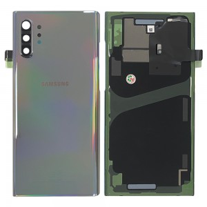 Samsung Galaxy Note 10+ N975 - Battery Cover Original with Camera Lens and Adhesive Aura Glow < Service Pack >