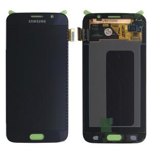 Samsung Galaxy S6 G920F - Full Front LCD Digitizer Black (Original Remaded)