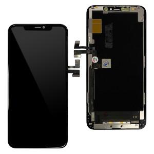 iPhone 11 Pro Max - Full Front OLED Digitizer Black ( Original Remaded )