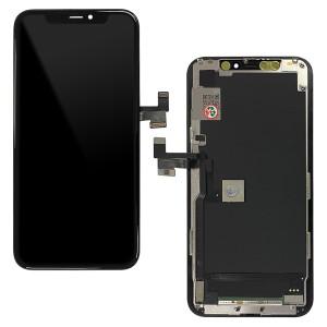 iPhone 11 Pro - LCD Soft OLED Digitizer Black A+++ GX