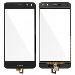 Huawei Ascend Y6 2017 / Nova Young - Front Glass Digitizer Black