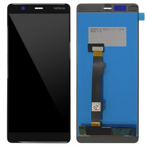 Nokia 5.1 - Full Front LCD Digitizer Black