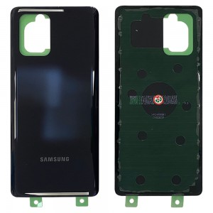 Samsung Galaxy S10 Lite G770F - Battery Cover With Adhesive Prism Black