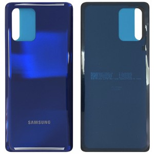 Samsung Galaxy S10 Lite G770F - Battery Cover With Adhesive Prism Blue