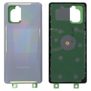 Samsung Galaxy S10 Lite G770F - Battery Cover With Adhesive Prism White