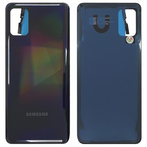 Samsung Galaxy A31 A315 - Battery Cover with Adhesive Prism Crush Black