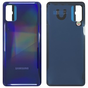 Samsung Galaxy A31 A315 - Battery Cover with Adhesive Prism Crush Blue