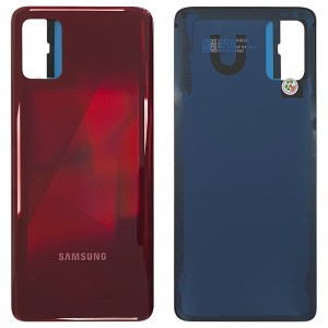 Samsung Galaxy A31 A315 - Battery Cover with Adhesive Prism Crush Red